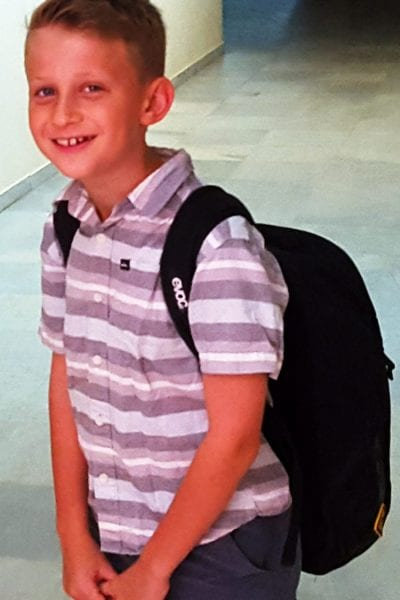 First day of school in Spain