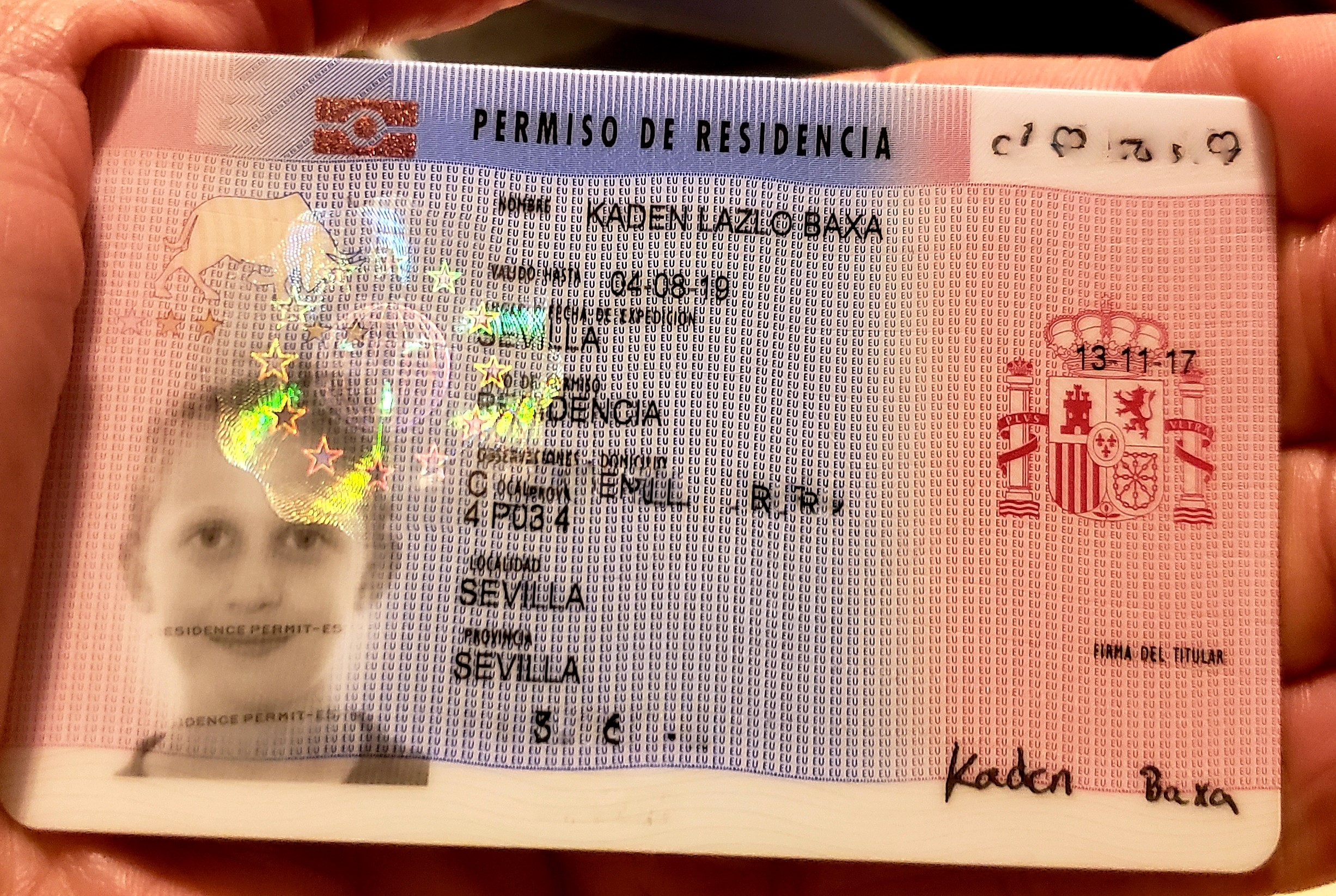 The Spanish TIE Residence Card for Foreigners