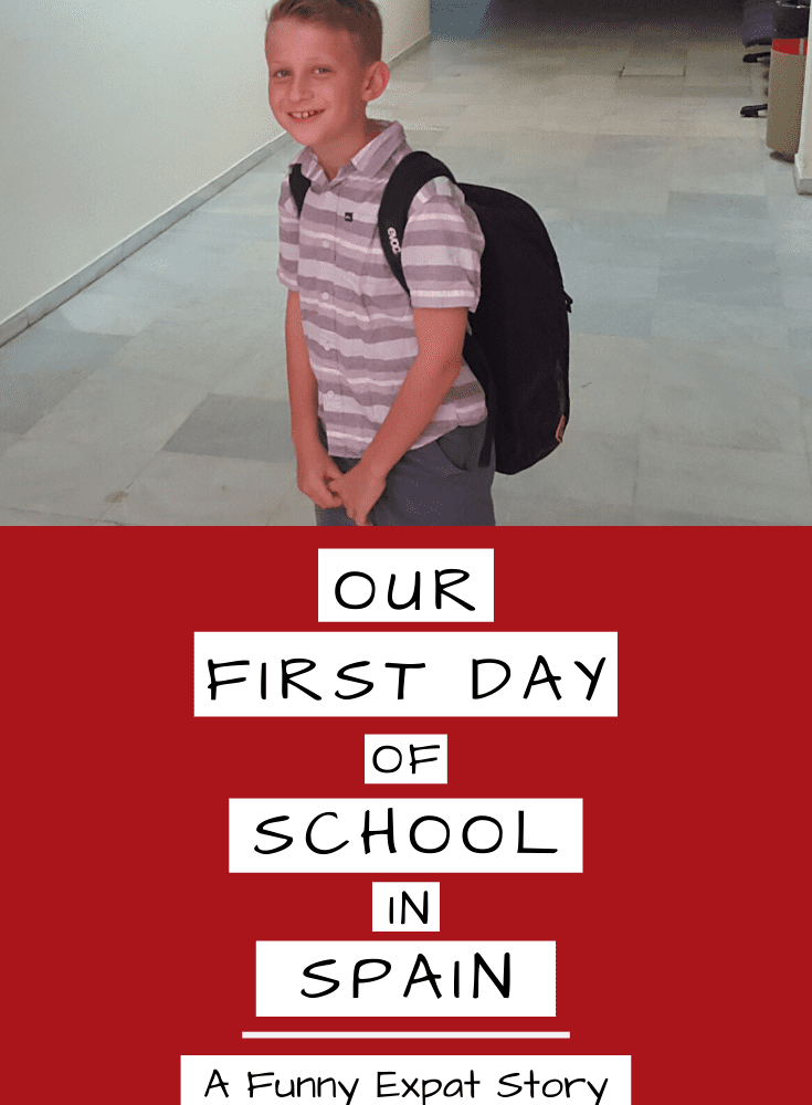 First Day of School in Spain – A Family Expat Story