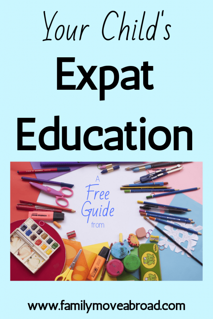 Free Guide to Your Child's Expat Education