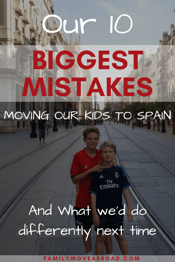 Mistakes to Avoid Moving to Spain as Family from US