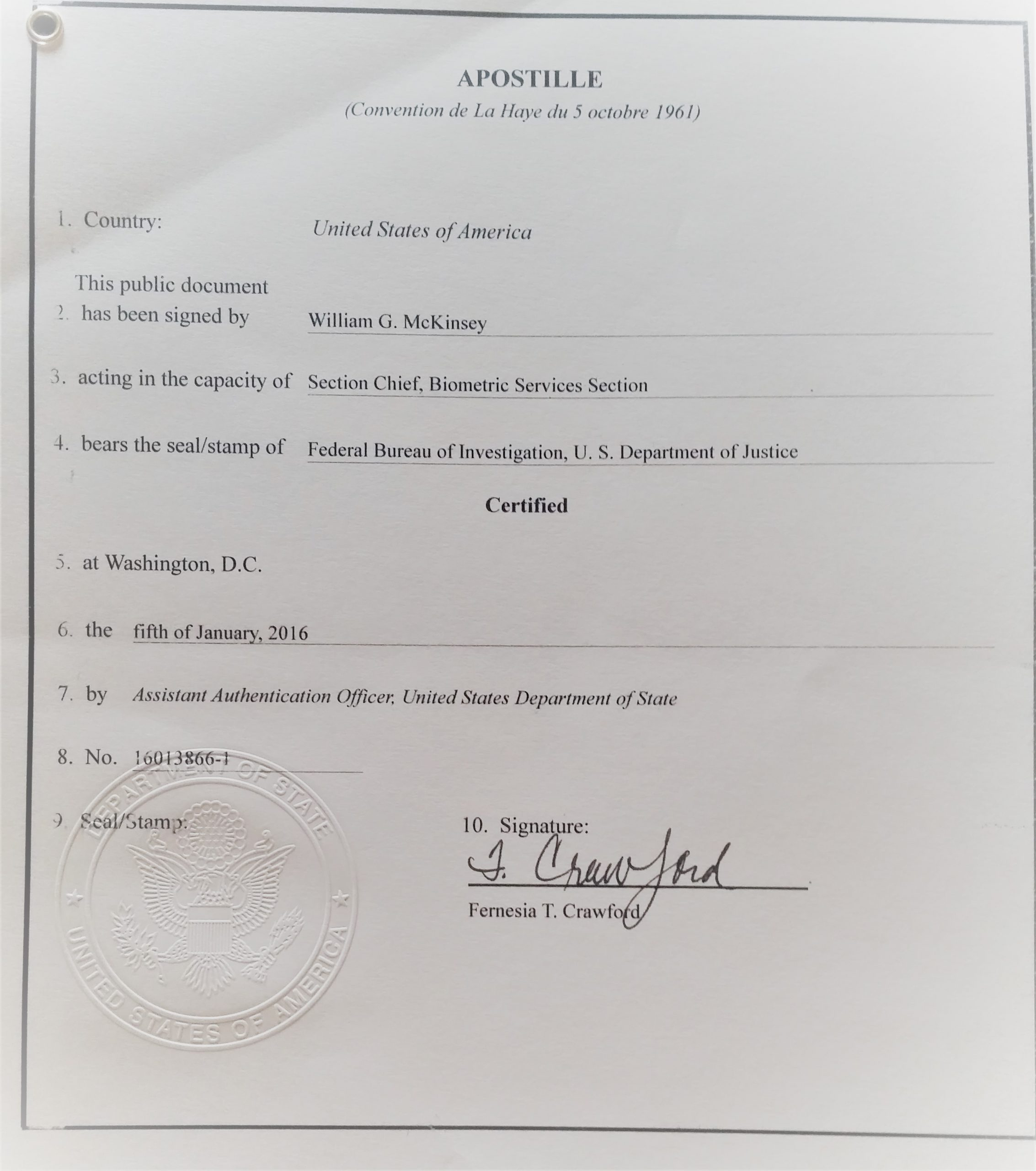 How to Get an Apostille for Your Visa Application